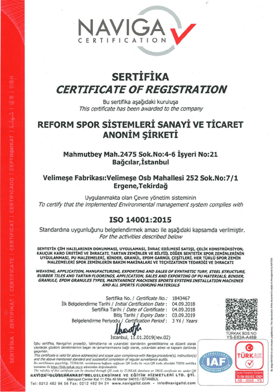 ISO 14001 REFORM