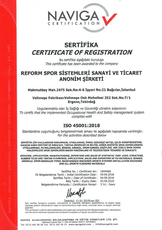 ISO 45001 REFORM