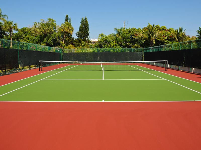 Kapali Tenis Kortlari Rs 4