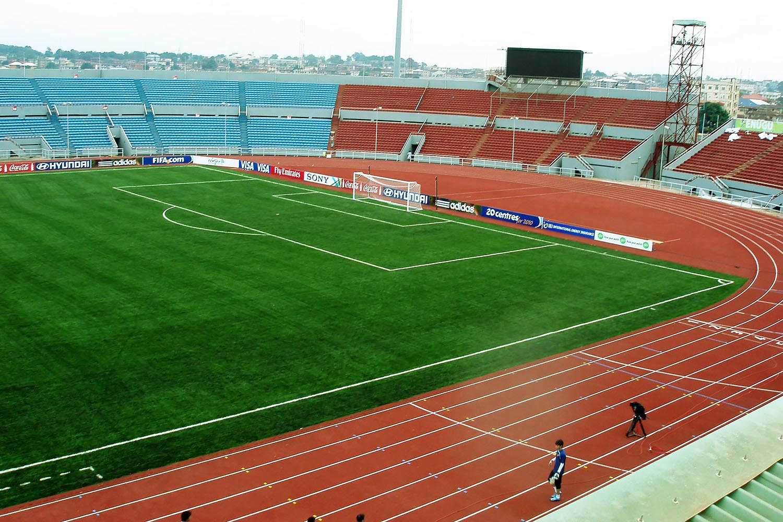 nijerya enugu stadyumu nizami futbol sahasi 1