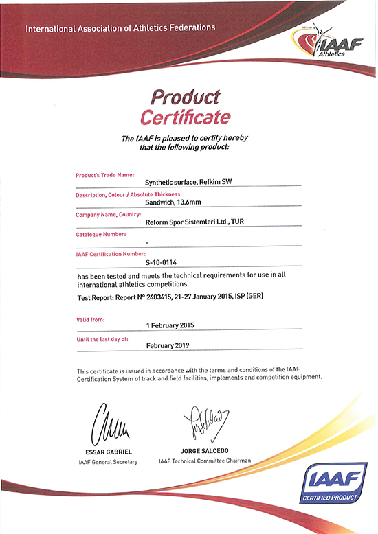 refkim sw certificate reform spor